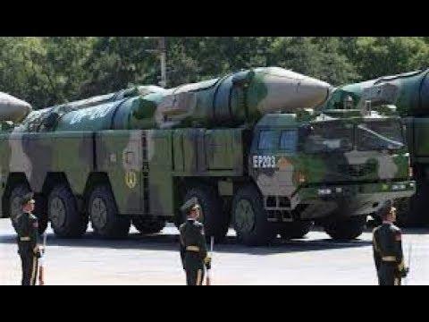 China exibe novo míssil balístico intercontinental DF-31AG pela primeira vez