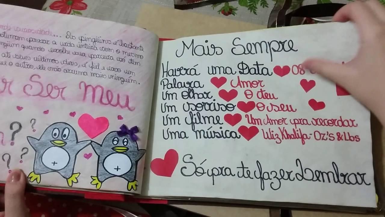 Desenhos De Amor Para Namorado: Caderno De Recordações Para O #NAMORADO