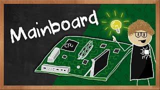 Wie funktioniert ein Mainboard / Motherboard? Erklärvideo von BYTEthinks | #Gaming-PC