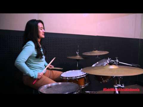 Belajar Drum : Warming up saat latihan drum - Jeane Phialsa