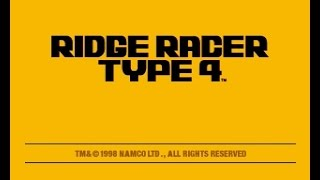 PSX Longplay [339] Ridge Racer Type 4 (a)