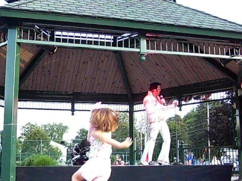 Elvis (Terry Buckwald} In Attica New York #4