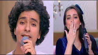 الفنان محمد محسن يهدي اغنية
