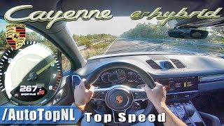 PORSCHE CAYENNE 2019 E HYBRID 462HP AUTOBAHN POV 267km/h by AutoTopNL