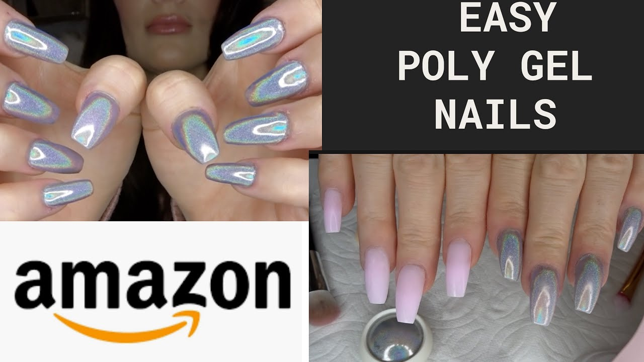 Download Easy DIY Poly Gel Nail Kit from Amazon - Beetles