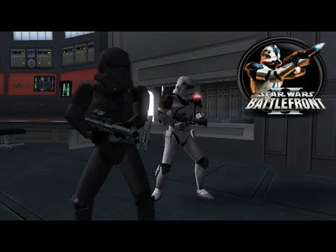 Star Wars Battlefront II Mod - Death Star: Death Troopers (SCM) Gameplay