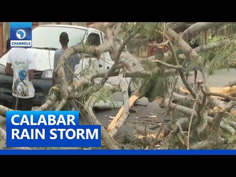 Residents Lament  As Rain Storm Wrecks Havoc In Calabar