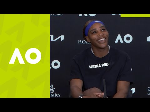 """Serena Williams: """"No one gets there by chance"""" press conference (QF) 