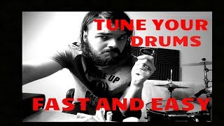 TUNE YOUR DRUMS EASY AND FAST!