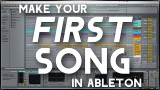 Download Video Making Your FIRST Song in Ableton (Using Default Ableton Plugins/Instruments) MP3 3GP MP4
