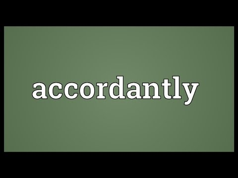 Header of accordantly