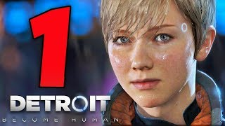 DETROIT BECOME HUMAN [Walkthrough Gameplay ITA HD - PARTE 1] - UN GIOCO EMOZIONANTE (Nuova Serie)