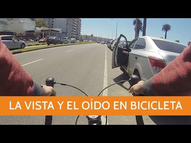 La vista y el oído en la bicicleta