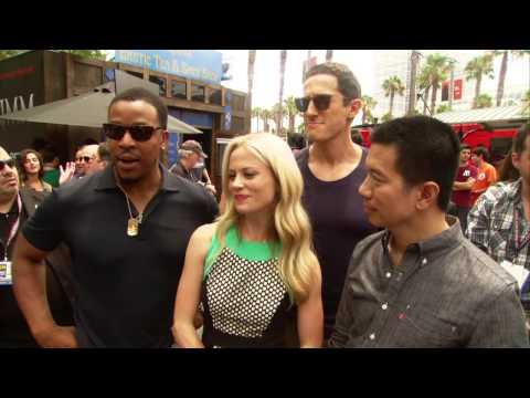 Grimm Season 3 Comic-Con 2013: Cast Exhibit Interview
