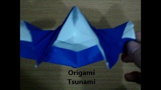 Origami Tsunami designed by Jeremy Shafer (Not a Tutorial) Thumbnail