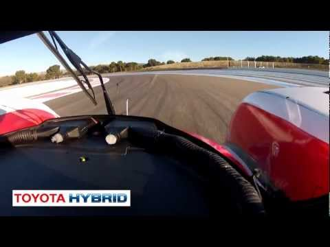 Listen To Toyota Hybrid Race Car Start Up Le Mans Commercial   - New Carjam Car Radio Show 2012