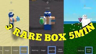 3 RARE BOX MIN5-One Piece Legendary-Roblox