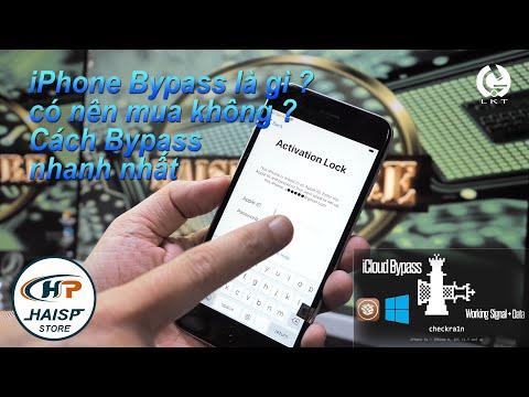 iphone có thể Bypass gọi nghe nếu máy quốc tế và chưa sử lý phần mềm