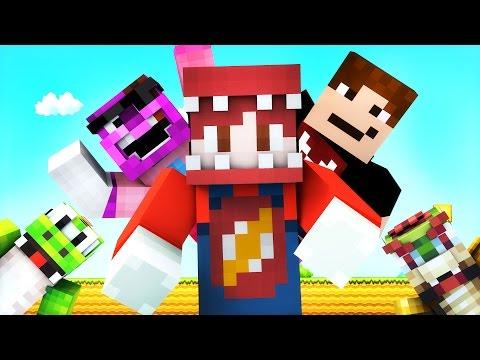 Minecraft Mario Hide and Seek! w/ ThatGuyBarney, SGCBarbierian and Yoshi! (Roleplay)