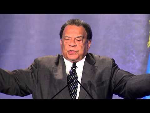 Amb. Andrew Young speaks at Rwanda Day Atlanta, 20 September 2014