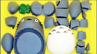 となりのトトロのおもちゃ 立体パズル playing puzzle with My Neighbor Totoro|おもちゃの動画 となりのトトロ 検索動画 23
