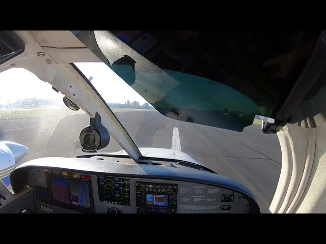 Ferry flight from Troutdale to Hillsboro Oregon
