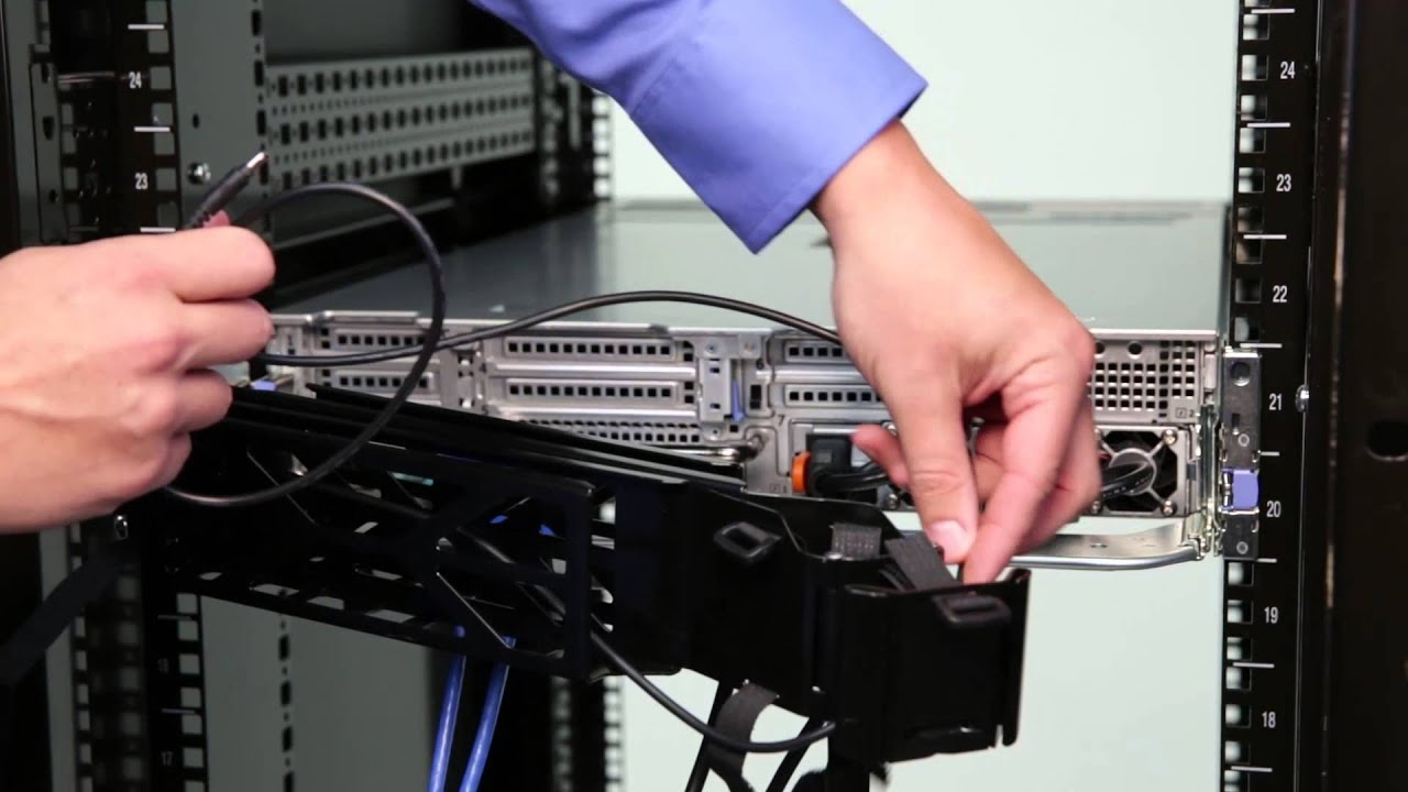 & Dell PowerEdge 13G Rack Servers: Install Cable Management Arm - YouTube