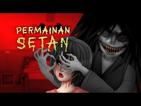Permainan Setan 1 | Kartun Hantu & Animasi Horor #HORORMISTERI