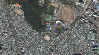마산 종합운동장 야구장(Changwon Masan Baseball Stadium,馬山綜合運動場野球場) korea baseball stadium