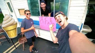 RV ICE CREAM TRUCK POP UP SHOP!