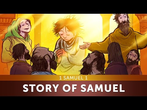 Sunday School Lesson for Kids - The Story of Samuel - 1 Samuel 1 - Bible Teaching Stories for VBS