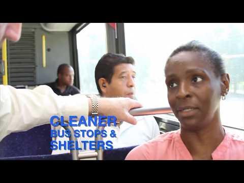 Houston METRO CEO Rides Bus Line 161 Wilcrest Express