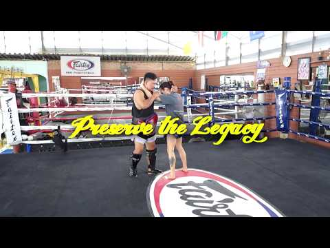 Reversing Direction in Clinch - Push-Pull - Muay Thai Library Project