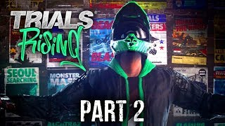 Trials Rising Early Gameplay Walkthrough Part 2 - HARDER LEVELS !!!