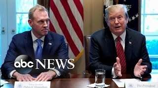 Acting Defense Secretary Patrick Shanahan steps down from the confirmation process