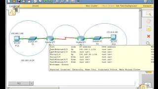 RIP -routing table basics using Packet Tracer  for biginner  Part 1
