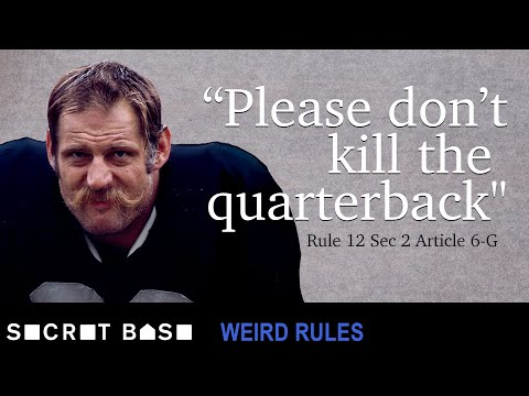 The quarterback hit that forced the NFL to consider safety | Weird Rules