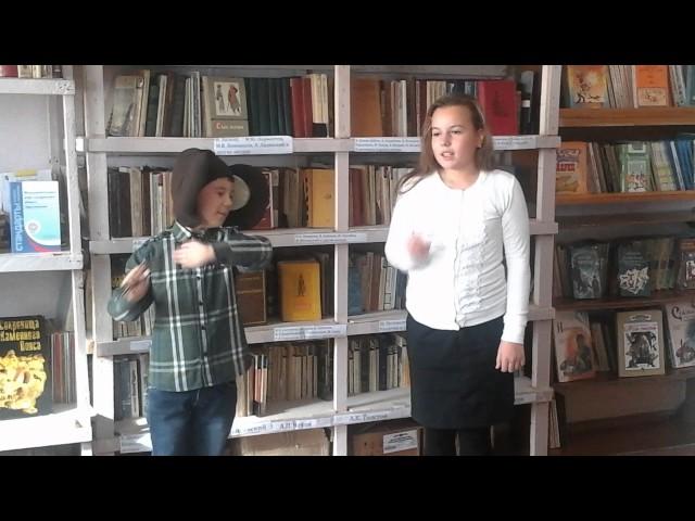 Изображение предпросмотра прочтения – ПолинаСоколова читает произведение «Мартышка и очки» И.А.Крылова