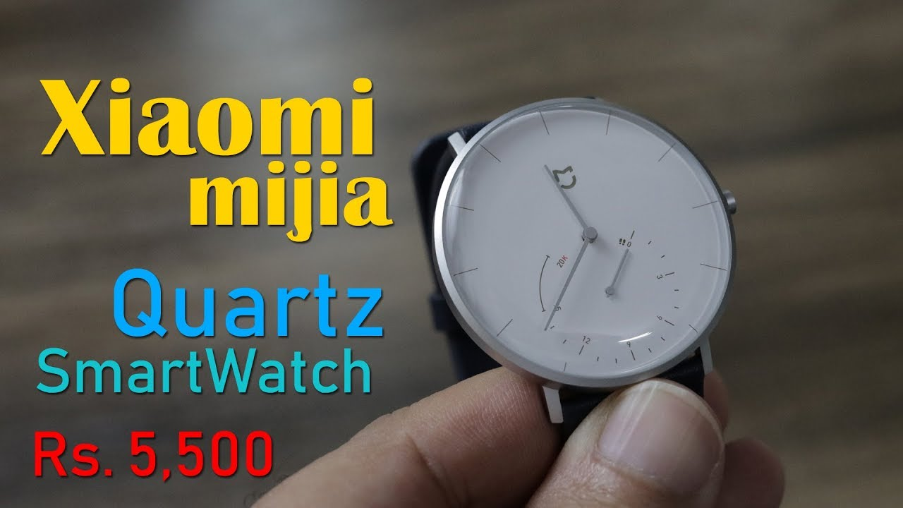 Xiaomi Mijia Quartz smartwatch review - this is analog ...