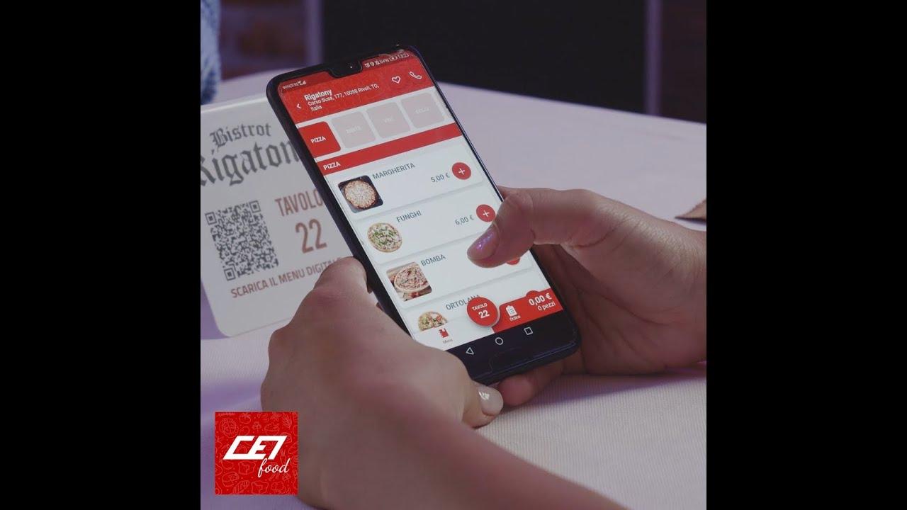 🍽 CEI Food: l'app che fa ordinare in autonomia i clienti dal tavolo del tuo locale!