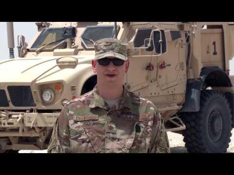 U.S. Air Force Maj. David Chewning