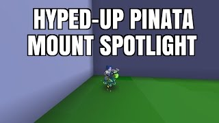 Hyped-Up Pinata (Pinata Party Mount!) | Trove Mount Spotlight