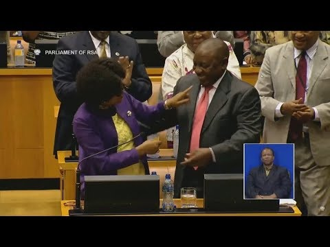 As it happened: Electing SA's next president in Parliament