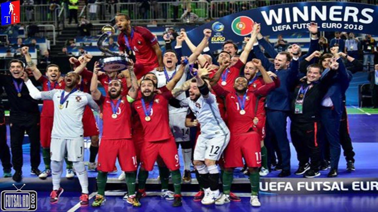 Gols Portugal 3 x 2 Espanha - FINAL UEFA Futsal Euro 2018 (10 02 2018). TV  Futsal HD d9fb0d607a980