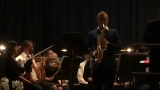 concerto for alto saxophone romance ronald binge performed by sven smeets