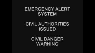 Emergency Alert System - Civil Danger Warning for Shrewsbury Township, PA