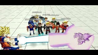 The TOURNAMENT of POWER IN ROBLOX roblox dragon ball rage