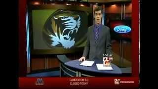 "Clayton Conness KOMU-TV 8 ""Sports Anchoring January 7, 2013"""