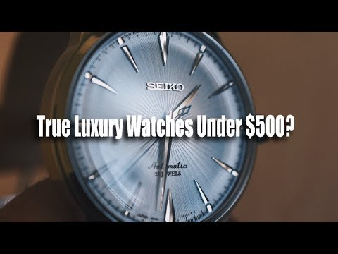 Top 5 MOST LUXURIOUS Watches UNDER $500