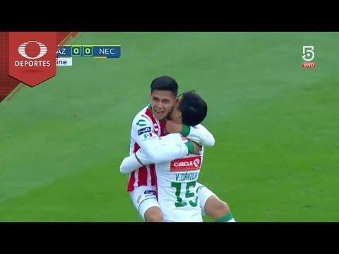 ⚽  Gol de Villalpando | Cruz Azul 0 - 1 Necaxa | Clausura 2018 - J 6 | Televisa Deportes